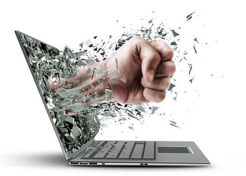 Los haters, cada vez más presentes en internet